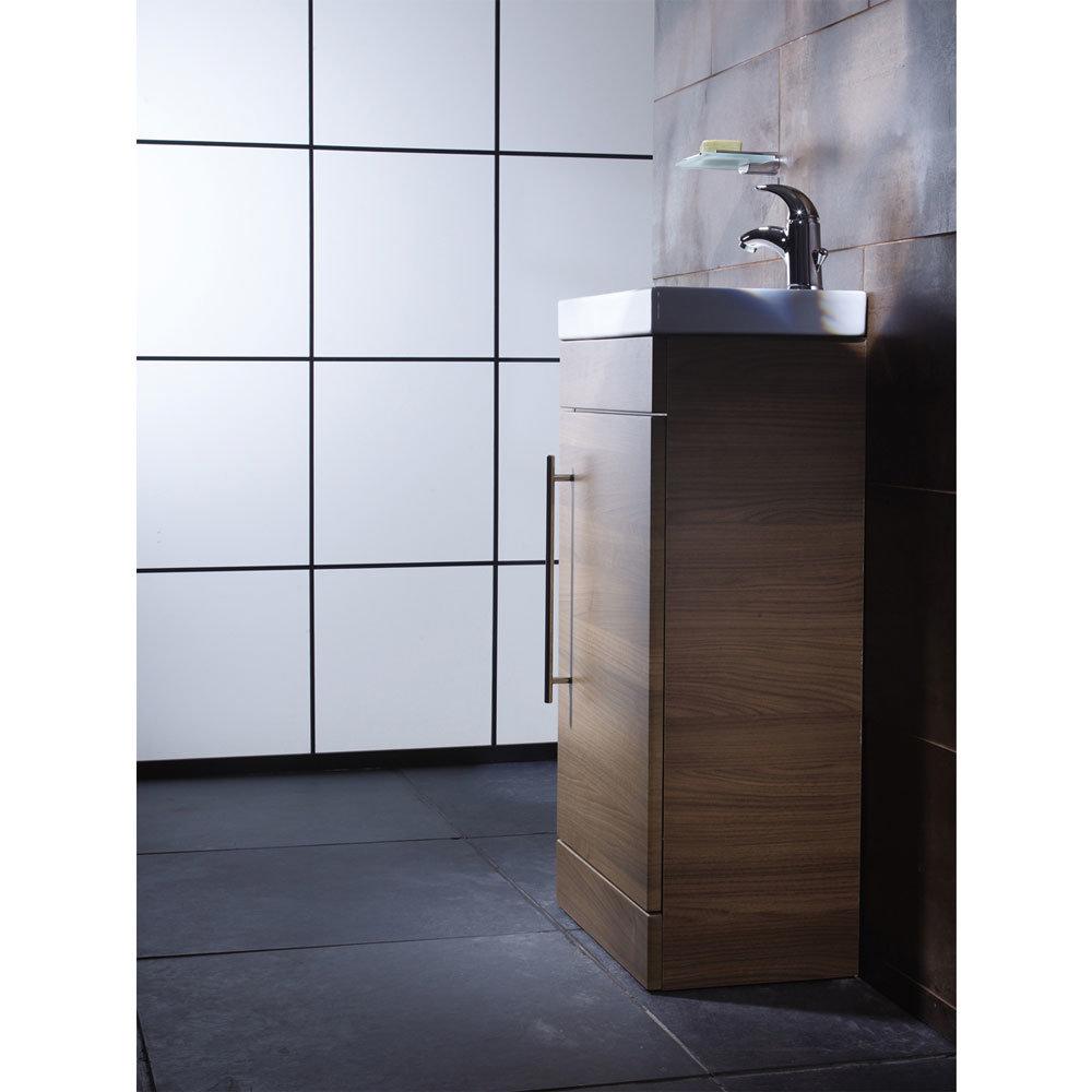 Roper Rhodes Esta 450mm Cloakroom Unit - Walnut profile large image view 3