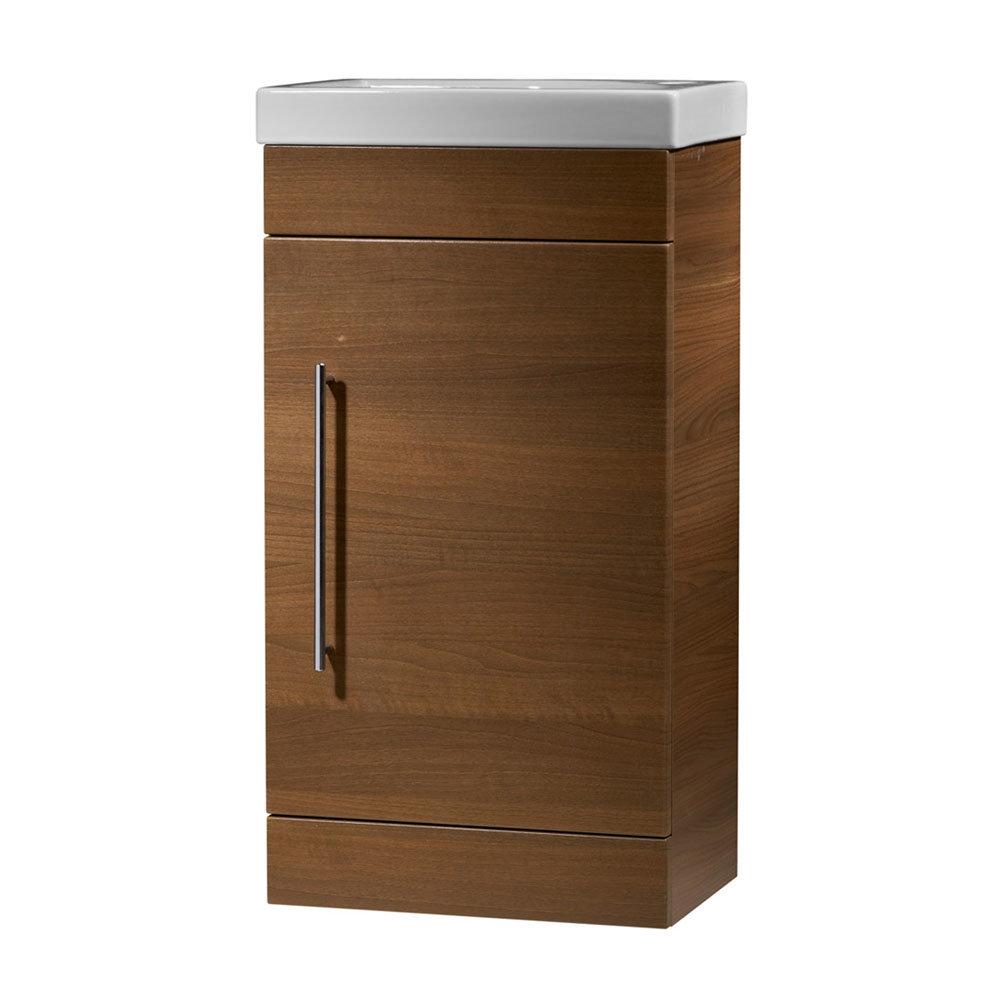 Roper Rhodes Esta 450mm Cloakroom Unit - Walnut profile large image view 1