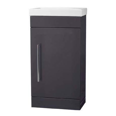 Roper Rhodes Esta 445mm Cloakroom Unit - Matt Carbon
