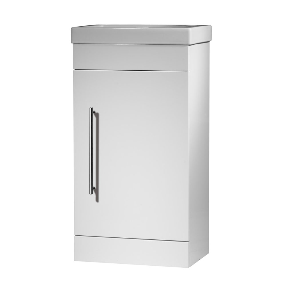 Roper Rhodes Esta 450mm Cloakroom Unit - Gloss White profile large image view 1