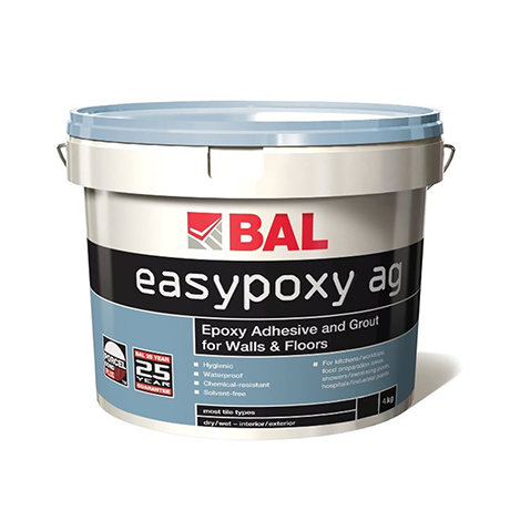 BAL Epoxy Adhesive and Grout for Walls & Floors