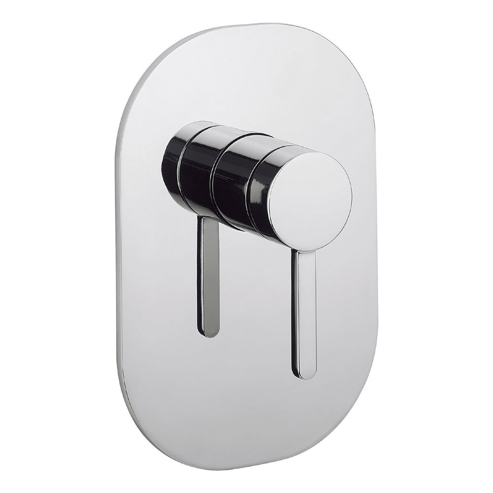 Crosswater - Ethos Concealed Manual Shower Valve - ET0004RC profile large image view 1