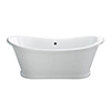 Burlington Admiral 1650 x 705 Double Ended Bath - ET5C profile small image view 1