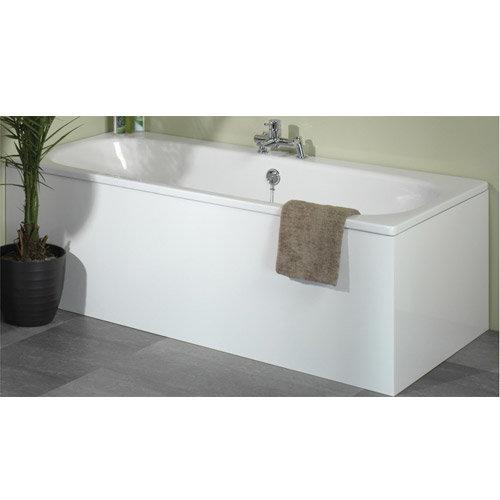Tavistock Ethos Front Bath Panel - White Profile Large Image