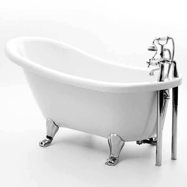 Royce Morgan Eton 1500 Luxury Freestanding Bath with Waste profile large image view 1