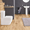 Grohe Euro 4-Piece Bathroom Suite (Basin + Rimless Toilet) profile small image view 1