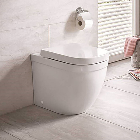 Grohe Euro Rimless Back to Wall Toilet with Soft Close Seat