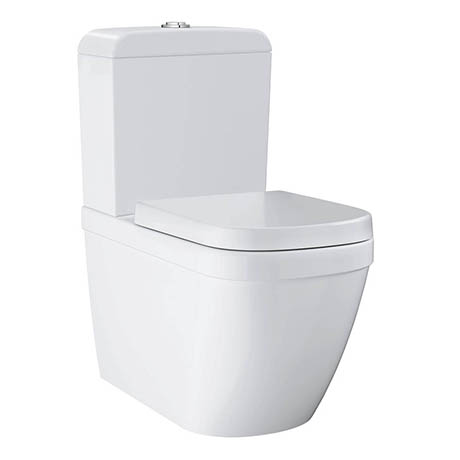 Grohe Euro Rimless Close Coupled Toilet with Soft Close Seat
