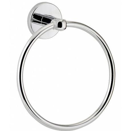 Euroshowers Luxury Towel Ring - Chrome - 19420