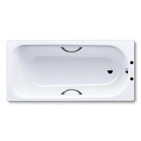 Kaldewei - Eurowa Steel Enamel Bath with Twin Grip Handles - 1500 x 700 - 2TH