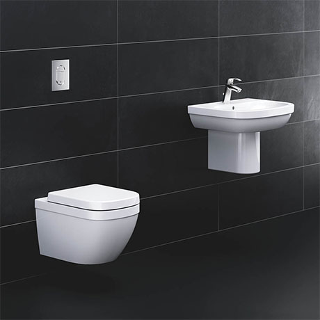 Grohe Solido Euro/Arena Wall Hung Bathroom Suite