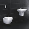 Grohe Solido Euro/Arena Wall Hung Bathroom Suite profile small image view 1