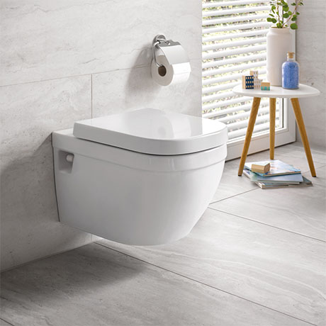 Grohe Euro Rimless Wall Hung Toilet + Standard Seat