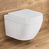 Grohe Euro Rimless Wall Hung Toilet with Soft Close Seat profile small image view 1