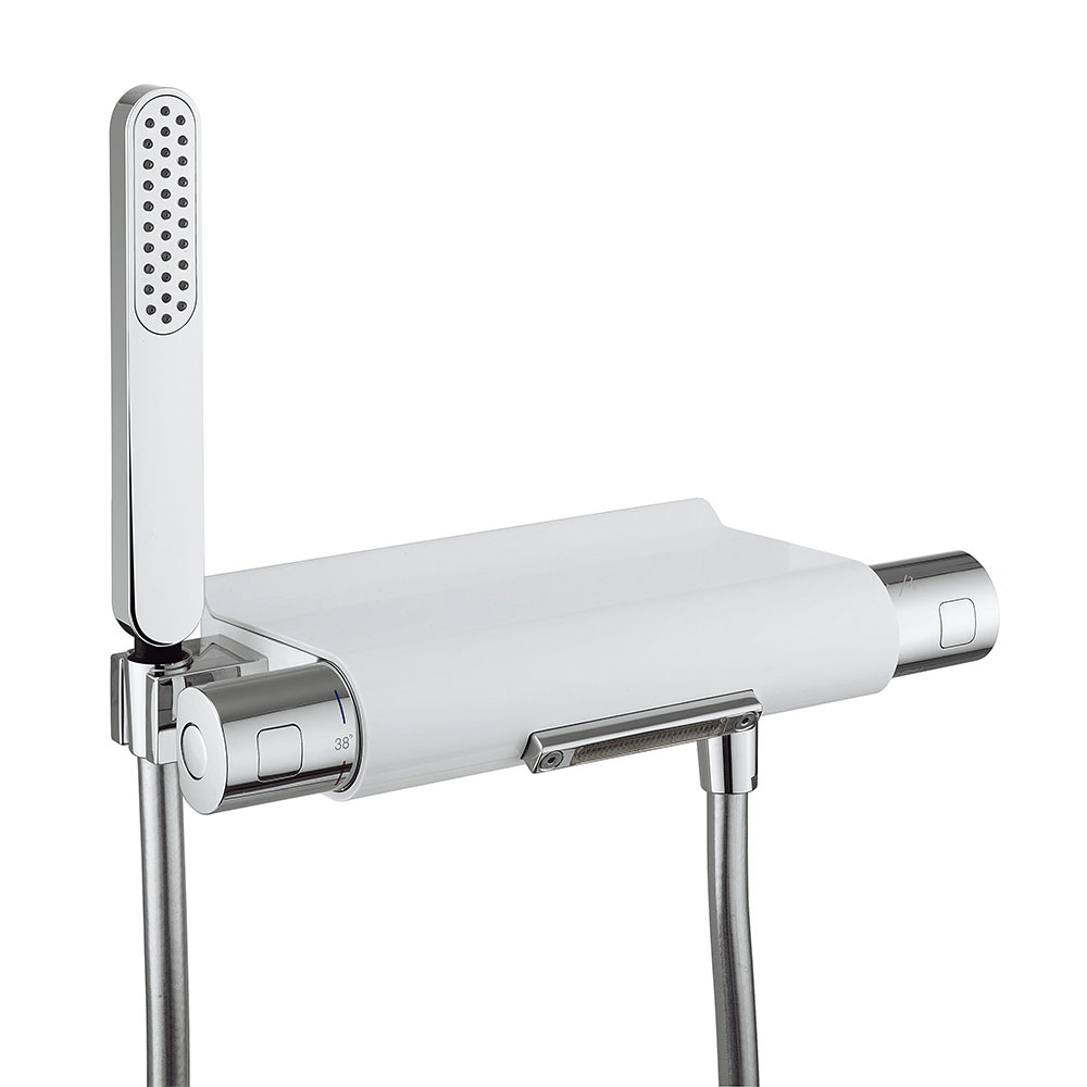 Crosswater - Arctic Thermostatic Bath Shower Mixer with Kit - EV1256EC profile large image view 1