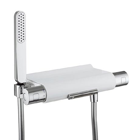 Crosswater - Arctic Thermostatic Bath Shower Mixer with Kit - EV1256EC