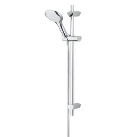 Bristan - EVO Shower Kit with Large Single Function Handset - Chrome - EVC-KIT01-C Large Image