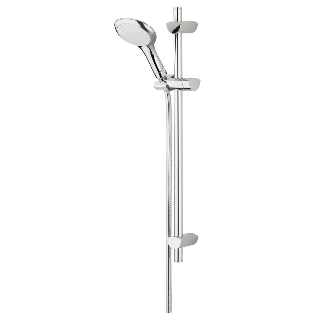 Bristan - EVO Shower Kit with Large Single Function Handset - Chrome - EVC-KIT01-C