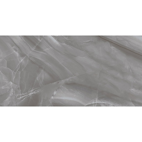 Evora Grey Marble Effect Wall Tiles - 300 x 600mm