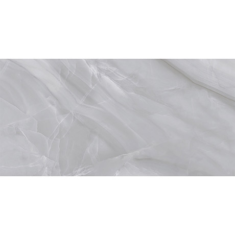 Evora Light Grey Marble Effect Wall Tiles - 300 x 600mm