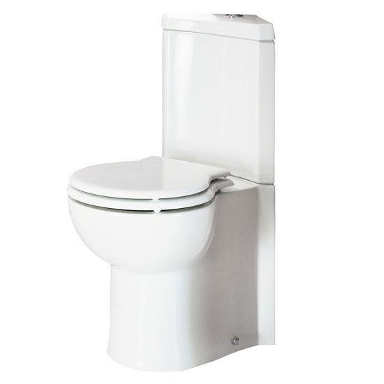 RAK Evolution Corner Close Coupled WC  amp  Soft Close Seat Medium Image. Corner Toilet   Small Corner Toilets   Victorian Plumbing