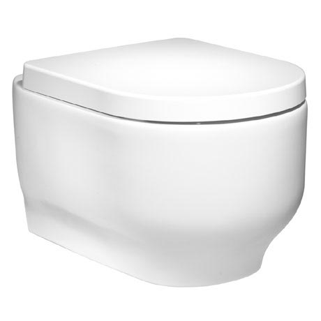 Roper Rhodes Edition Wall Hung WC Pan & Soft Close Seat