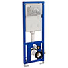 Concealed WC Cistern with Wall Hung Frame - EX2339G profile small image view 1