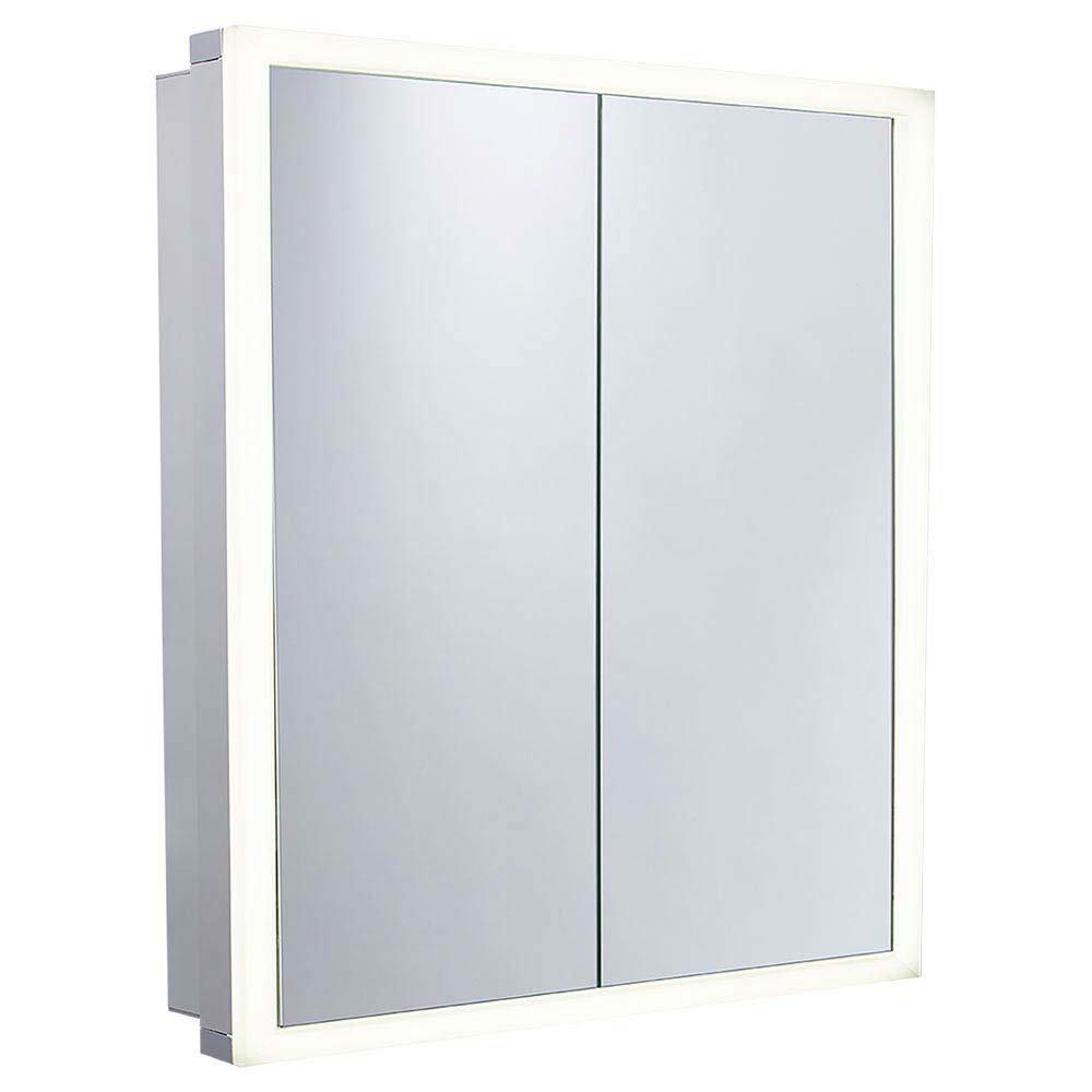 Roper Rhodes Extend Double Door Illuminated Mirror Cabinet - EX65AL profile large image view 1