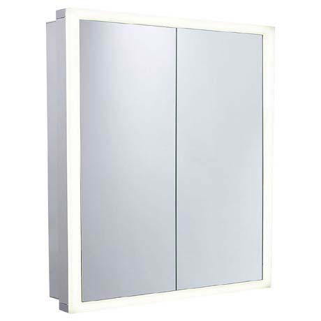 Roper Rhodes Extend Double Door Illuminated Mirror Cabinet - EX65AL