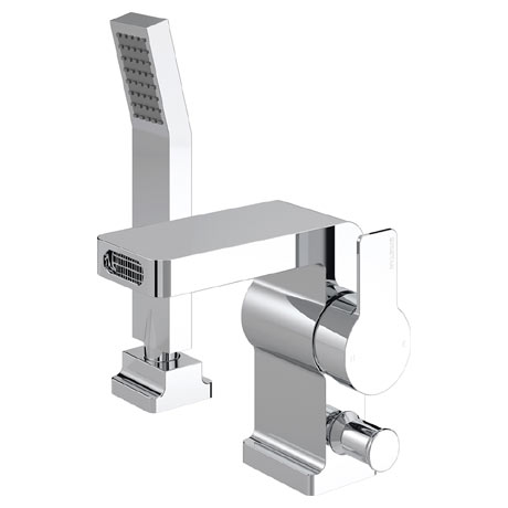 Bristan Exodus 2 Hole Bath Shower Mixer with Kit