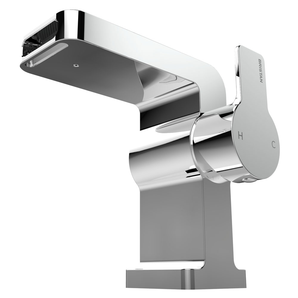 Bristan Exodus Mono Basin Mixer with Clicker Waste Standard Large Image