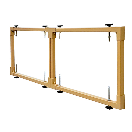 Easy Fit 1500-1800mm Extendable Front Bath Frame
