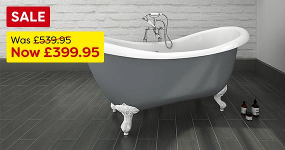 Earl Grey 1750 Slipper Bath