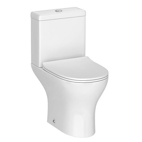Eclipse Modern Short Projection Toilet + Soft Close Seat
