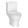 Eclipse Modern Short Projection Toilet + Soft Close Seat Small Image