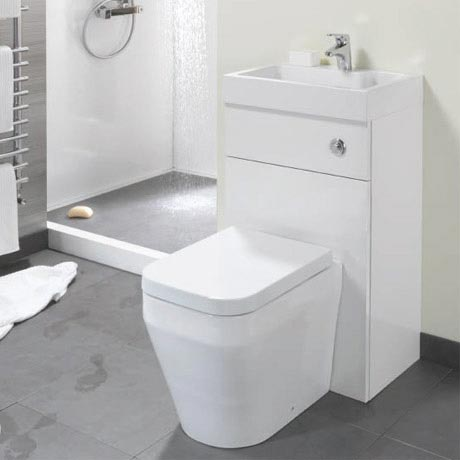 Eco Bathrooms 500 Combined Basin Wc Victorian Plumbing