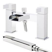 Edge Waterfall Bath Shower Mixer with Shower Kit Medium Image