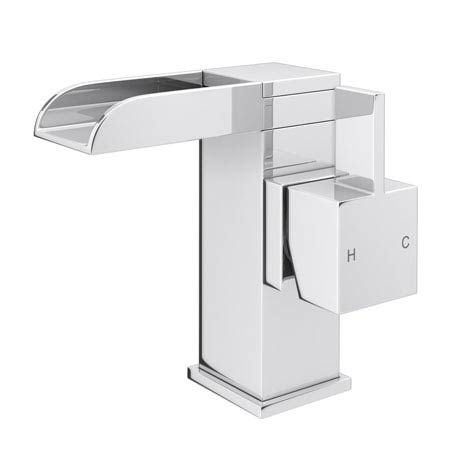 Edge Waterfall Mono Basin Mixer + Waste