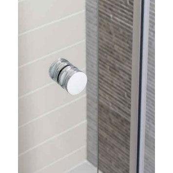 Simpsons - Edge Quadrant Single Door Shower Enclosure - 3 Size Options profile large image view 2