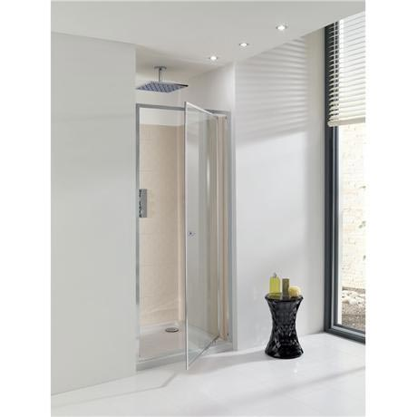 Simpsons - Edge Pivot Shower Door - 5 Size Options