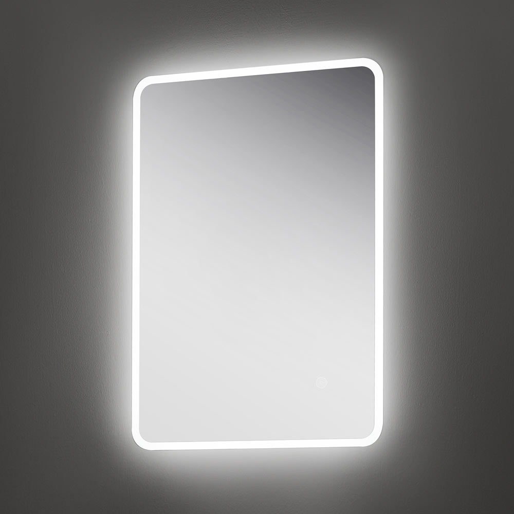 Led Track Lighting Edmonton: Edmonton 500x700mm LED Universal Mirror Inc. Touch Sensor