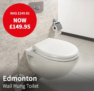 edmonton wall hung toilet