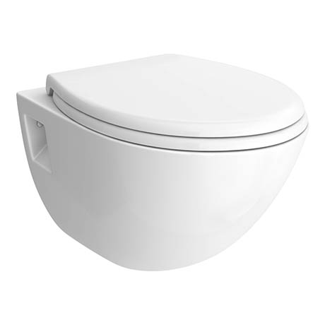 Edmonton Wall Hung Pan + Soft-Close Toilet