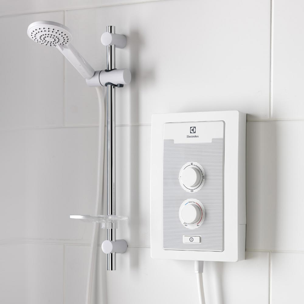 Electrolux AquaFlex 9.5kW Electric Shower - EYL95016WM  Profile Large Image