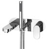 Elite Wall Mounted Bath Shower Mixer Tap + Shower Kit profile small image view 1