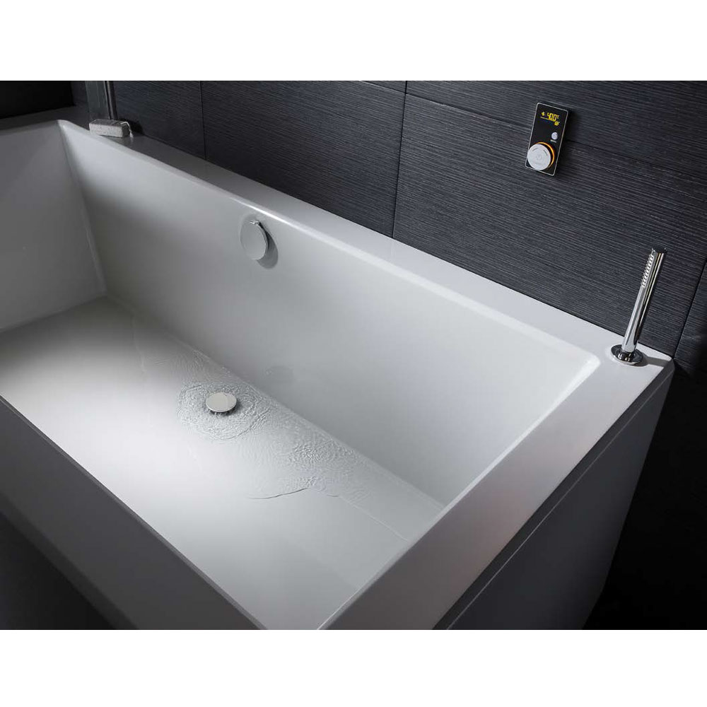 Crosswater Digital Elite 2-Way Bath Processor and Controller - 2 x Colour Options In Bathroom Large Image
