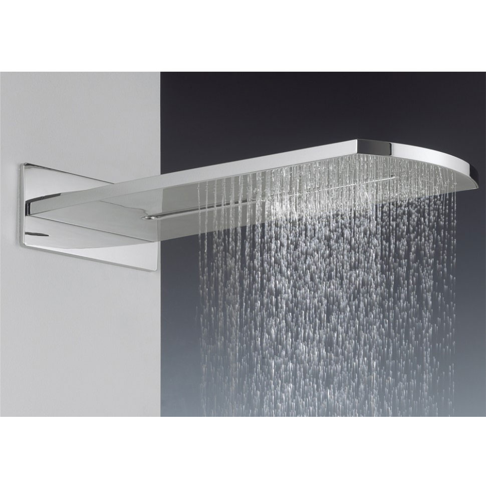 Crosswater Digital Evo Elite 2 Outlet Fixed Showerhead and Shower Handset profile large image view 6