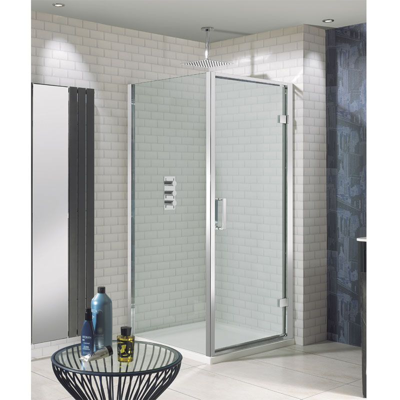 Simpsons - Elite Hinged Shower Door - 4 Size Options profile large image view 2