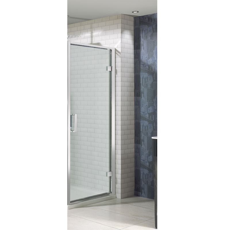 Simpsons - Elite Hinged Shower Door - 4 Size Options Large Image