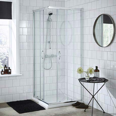 Ella Corner Entry Shower Enclosure - Various Size Options - Enclosure Only
